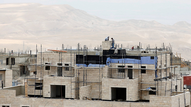 Settelments being built in the West Bank (Photo: Reuters) (Photo: Reuters)