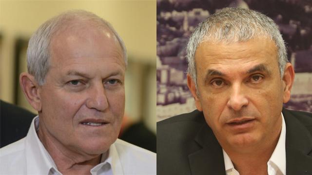 Katz (L) and Kahlon (Photo: George Ginsberg, Alex Kolomoisky)