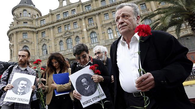 1.5 מיליון ארמנים נרצחו (צילום: EPA) (צילום: EPA)