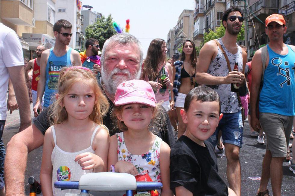 אילן גילאון והנכדים