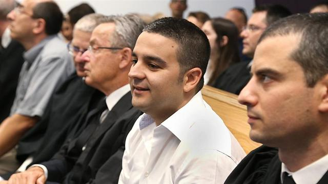 אורן קובי, לשעבר בעל השליטה בחברת אדמה, בבית המשפט (צילום: צביקה טישלר) (צילום: צביקה טישלר)