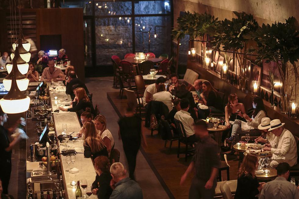 מסעדת ז'אז'ו בתל אביב (צילום: דן פרץ)
