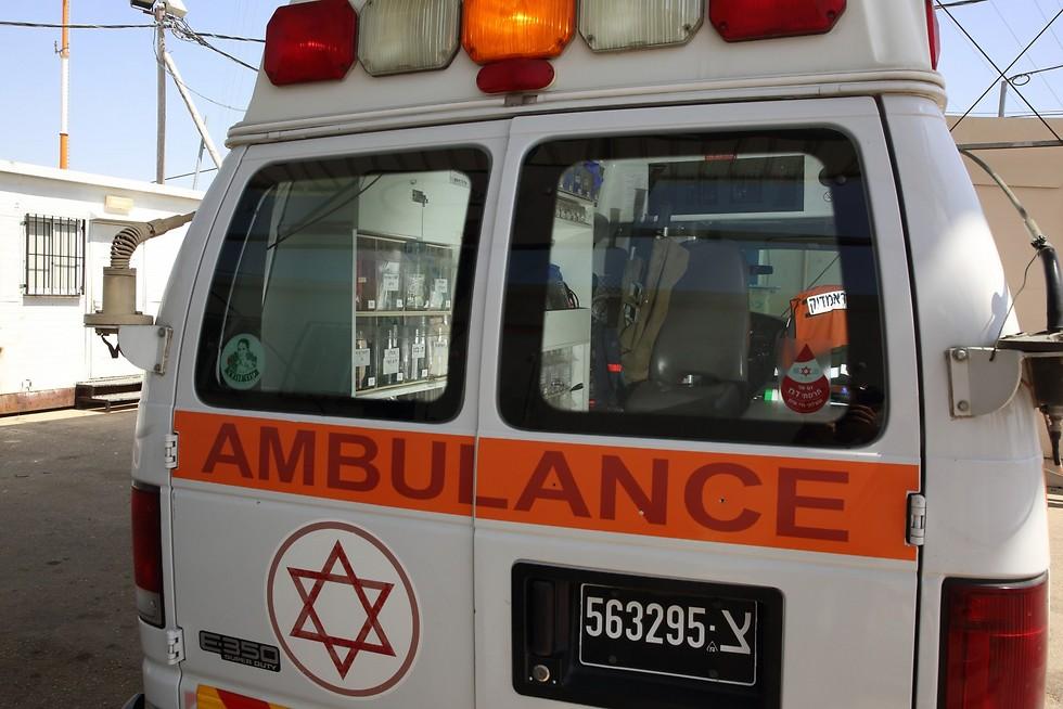 An Israeli ambulance (Photo: Hillel Maeir/TPS)
