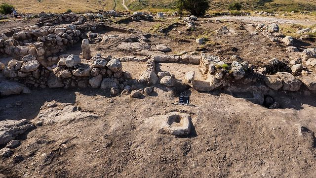 The excavation site (Photo courtesy of Israel Antiquities Authority)