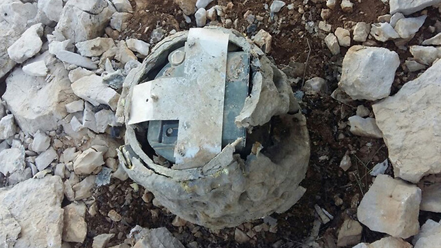 Device found in Lebanon disguised as a rock