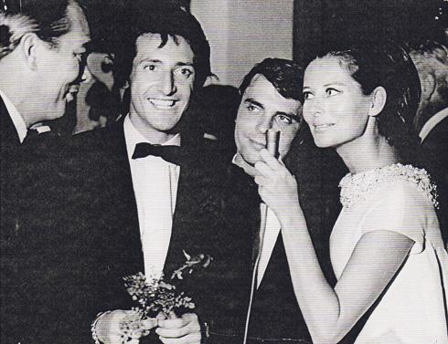 """מארדל (שני משמאל) בתחרות זמר בברזיל בשנות ה-60. """"הייתי כמו מכונה"""" (צילום רפרודוקציה: יואב דודקביץ)"""