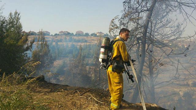 (צילום: דוברות כיבוי אש והצלה)