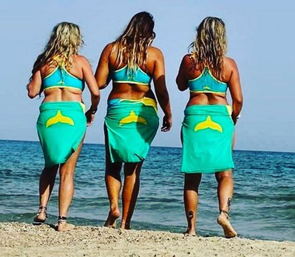 צילום: מתוך עמוד האינסטגרם hot surfer girls tlv