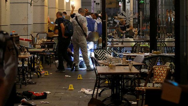 Scene of terror attack (Photo: Reuters)