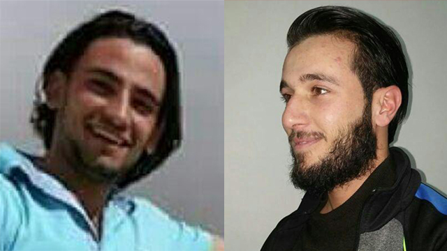 The two terrorists: Mohammad and Khaled Mahamrah