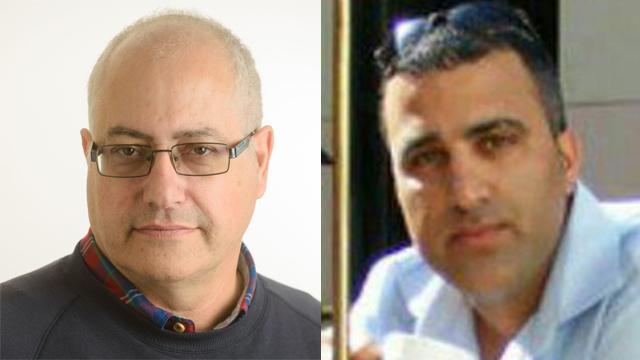 Dr. Michael Feige, left, and Ido Ben-Ari (Photo:Ben-Gurion University, Danny Machlis)