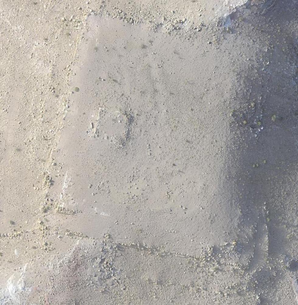 שרידי המבנה ההיסטורי (צילום:  I. LABIANCA) (צילום:  I. LABIANCA)