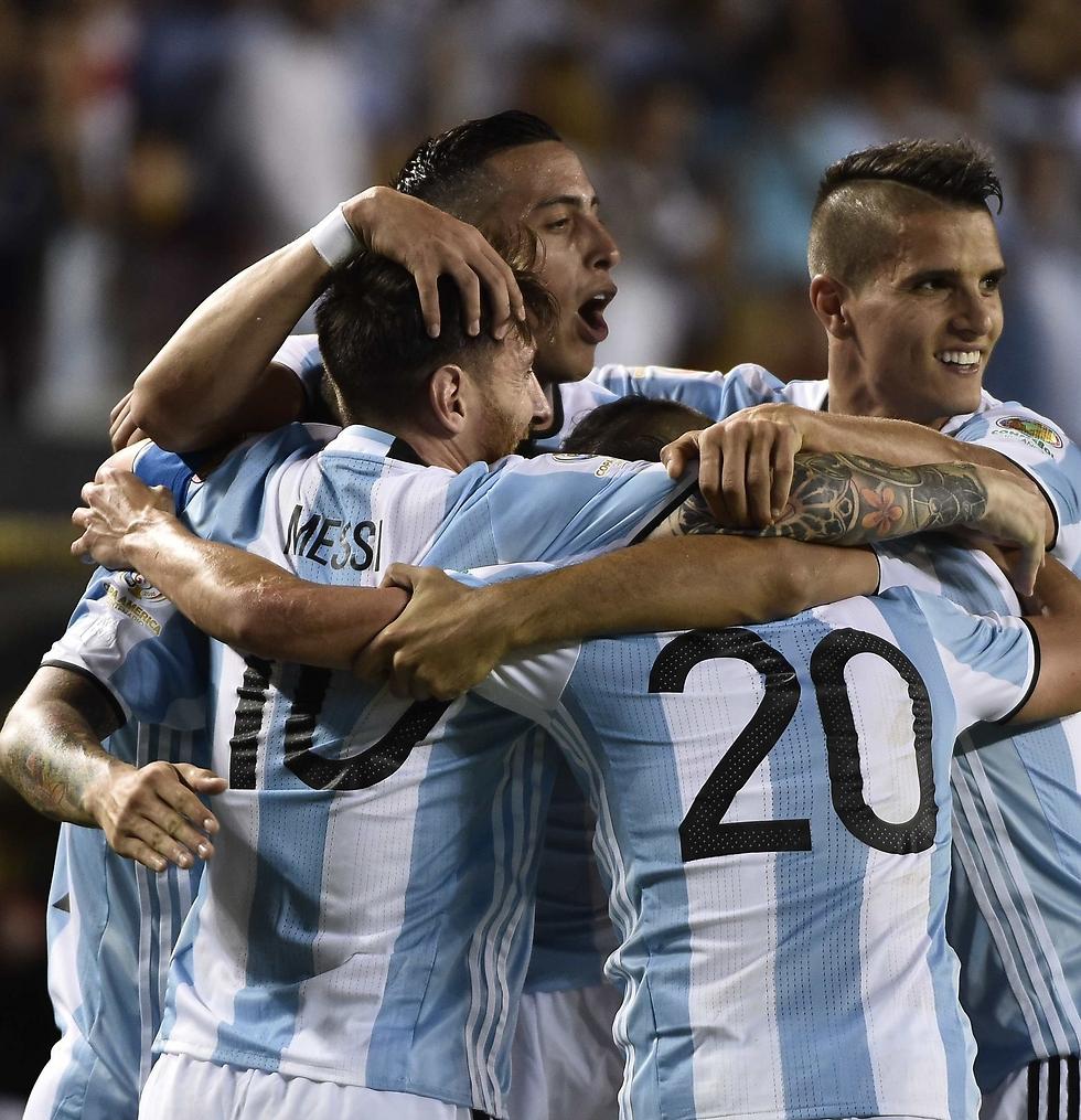 נבחרת ארגנטינה. בקרוב בטדי (צילום: AFP) (צילום: AFP)