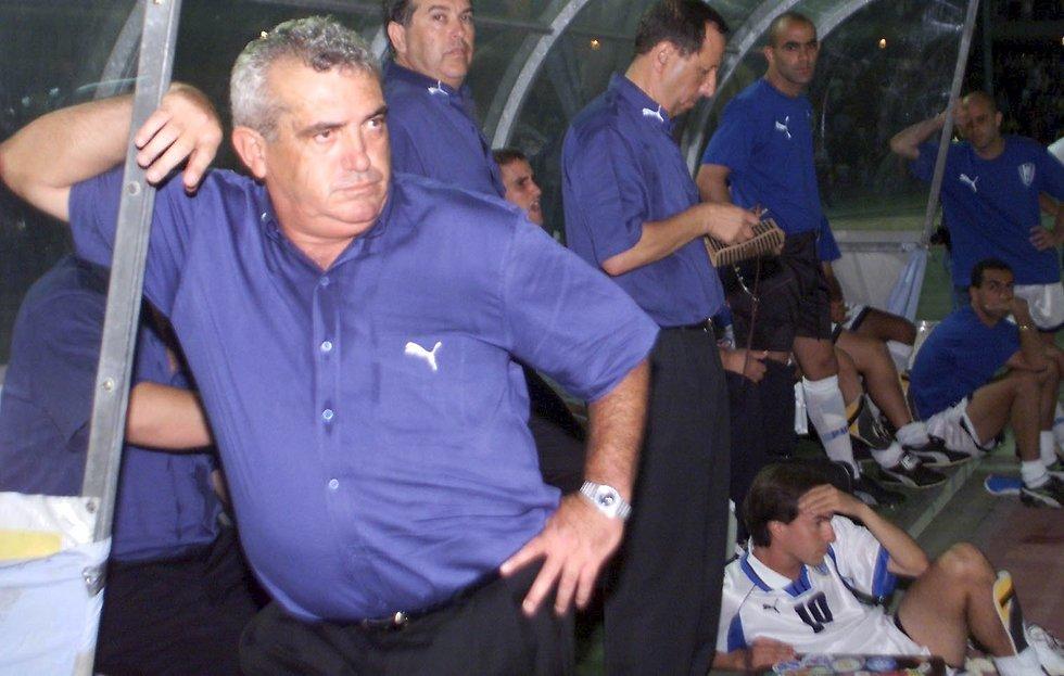 ההצלחה בחיפה הביאה אותו לנבחרת. שרף (צילום: יוסי רוט) (צילום: יוסי רוט)