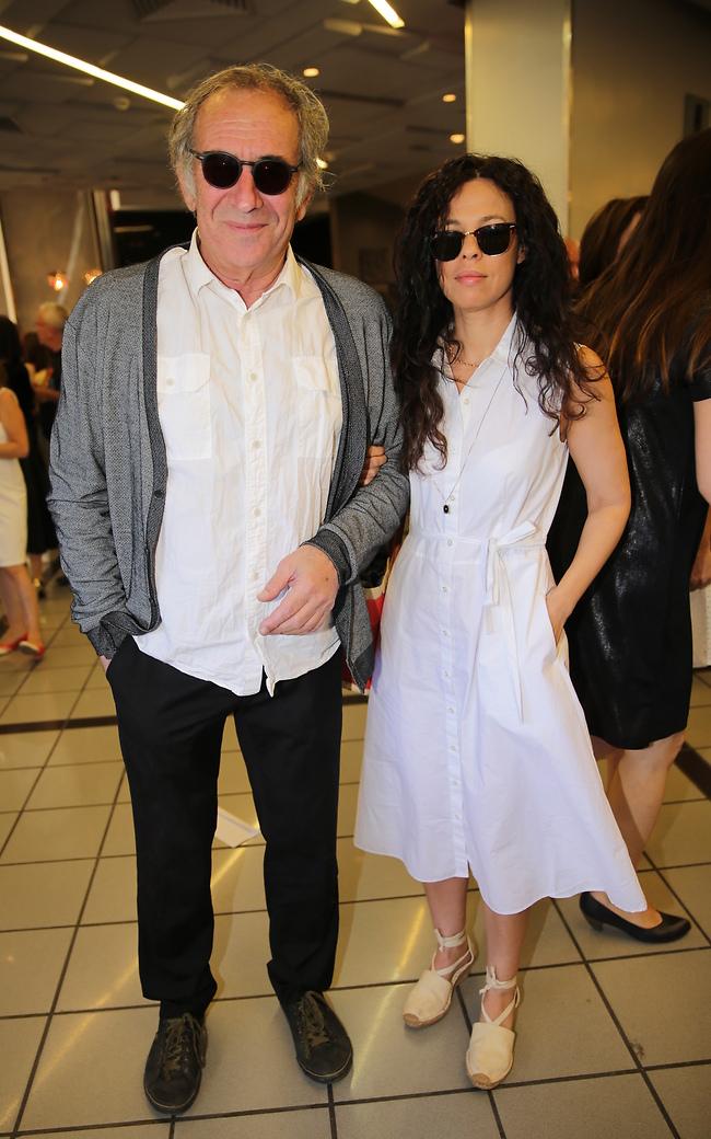 דב'לה גליקמן וזוגתו שלומציון (צילום: רפי דלויה)