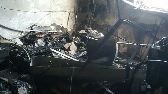 (צילום: כיבוי אש והצלה) (צילום: כיבוי אש והצלה)