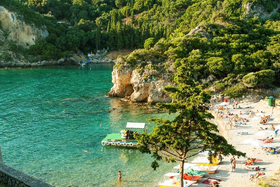 אחד האיים היפים של יוון: קורפו (צילום באדיבות קשרי תעופה)