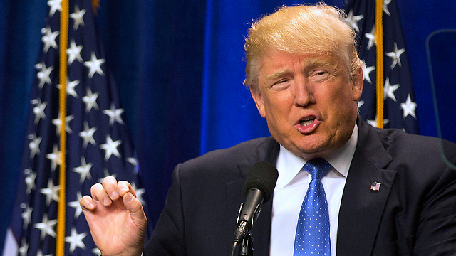 טראמפ הערב בניו המפשייר (צילום: AP) (צילום: AP)