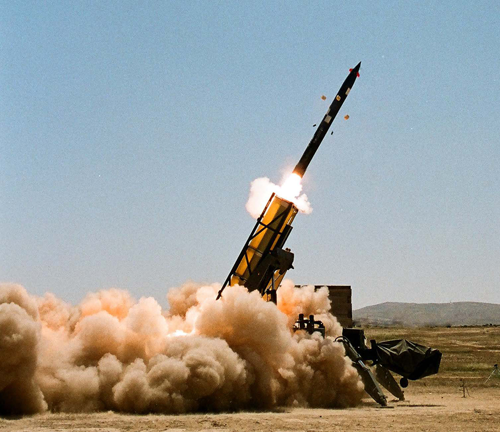 The Predator Hawk missile. A range of 300 kilometers and more  (Photo: Israel Military Industries)