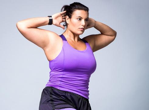 """""""אני חזקה מאוד, יש לי יתרון גדול בזכות המשקל שלי"""". זרד (צילום: אוהד רומנו)"""