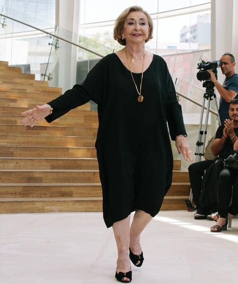 ליה קניג רוקדת על המסלול (צילום: רונה בר)