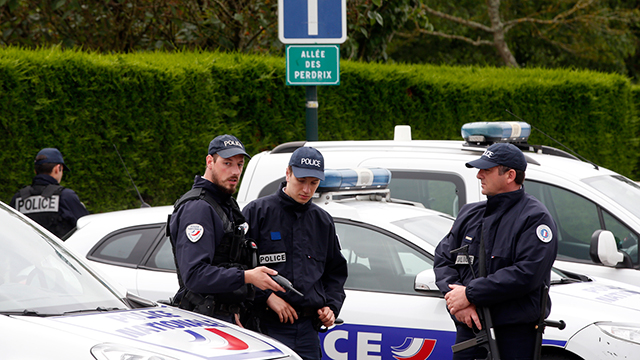 French National Police (File photo: AP)