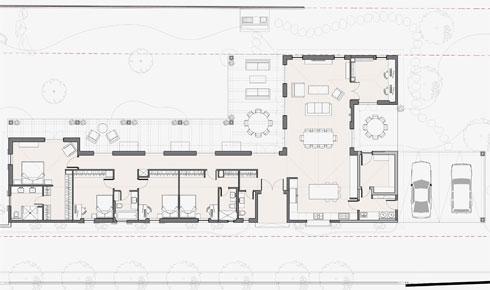 תוכנית הבית (שרטוט: גילי זילברברג)
