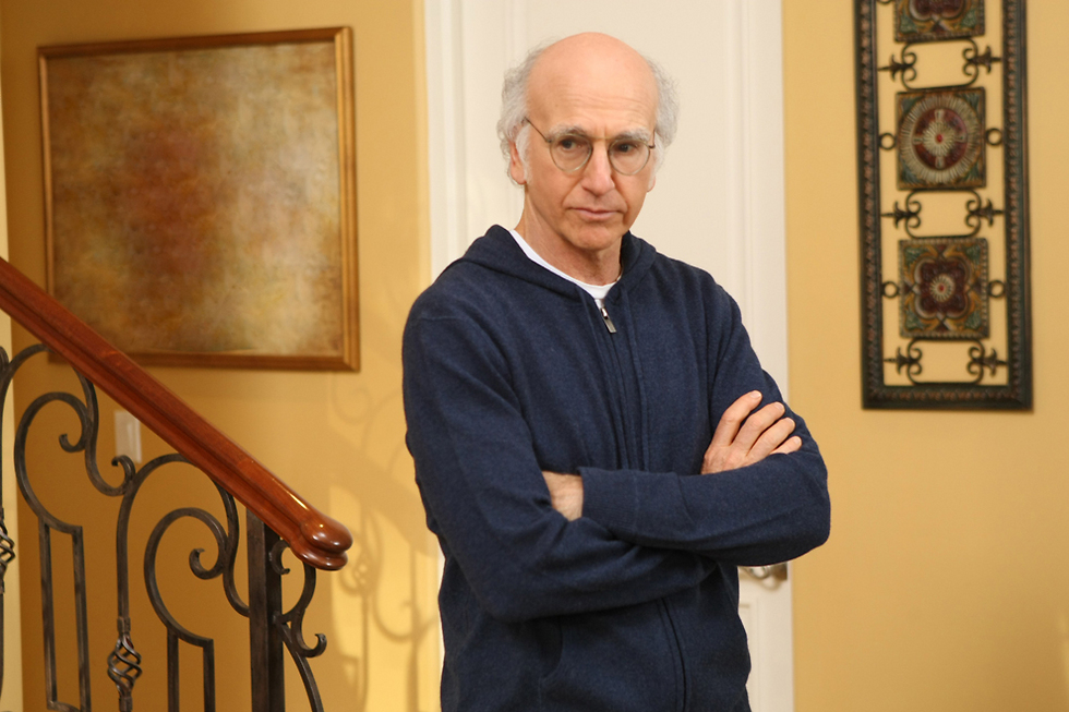 Jewish comedian Larry David was criticized for his SNL opening monologue (Photo: HBO)