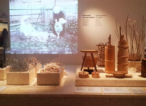 המוזיאון נותן כבוד לחומרים ולמסורת המקומית (צילום: ענת ציגלמן)