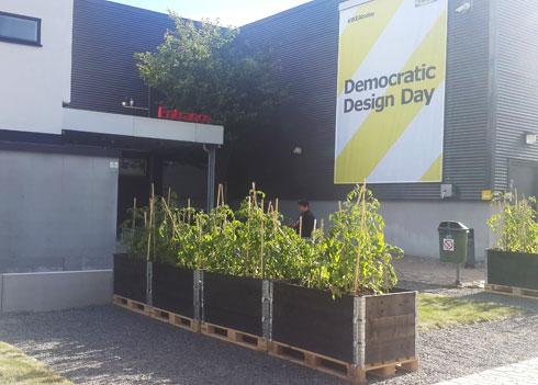 ברוכים הבאים ל-democratic design day (צילום: ענת ציגלמן)