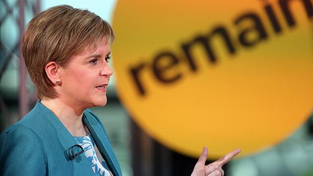 """""""מאמינה בעצמאות ובדמוקרטיה של עמים, אבל גם בצורך לשתף פעולה למען עתיד משותף"""". ראשת ממשלת סקוטלנד ניקולה סטרג'ן (צילום: gettyimages)"""