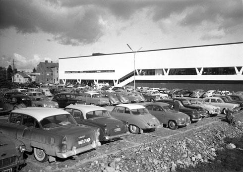 החנות הראשונה שנפתחה ב-1958 באלמוט. עכשיו היא הפכה למוזיאון (צילום: באדיבות IKEA)