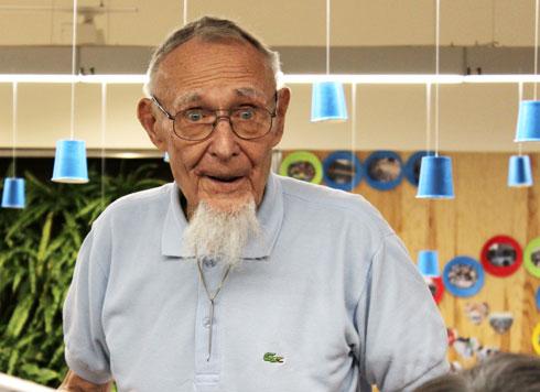 אינגוואר קמפראד, מייסד איקאה, חגג השנה 90 (צילום: באדיבות IKEA)