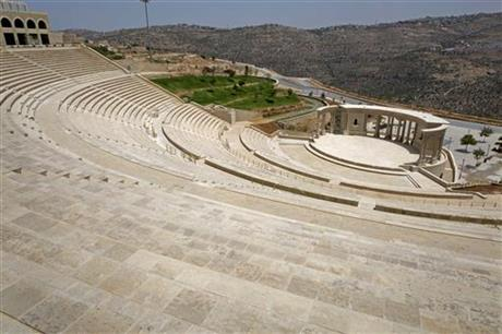 Open-air theater in entertainment complex