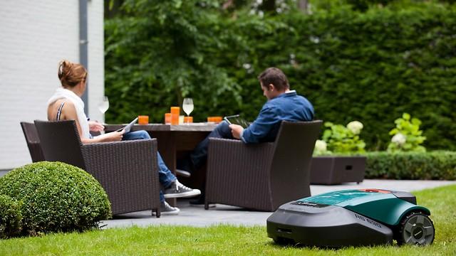 ה-i-robot של מכסחות הדשא. robomow  (צילום: באדיבות robomow) (צילום: באדיבות robomow)