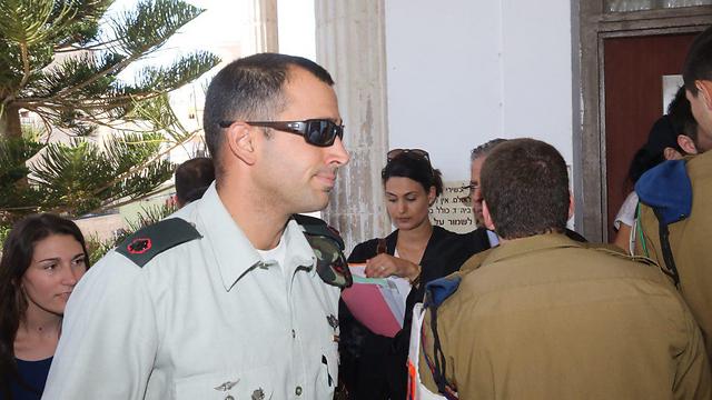 Kfir Brigade company commander Tom Naaman (Photo: Motti Kimchi)