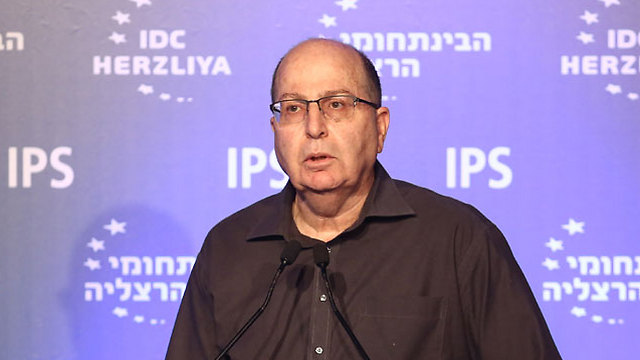 Former defense minister Ya'alon (Photo: Adi Cohen Tzadok)
