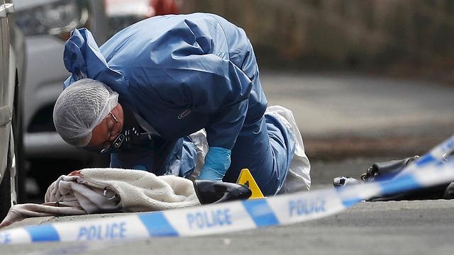 זירת הירי בבירסטול (צילום: רויטרס) (צילום: רויטרס)