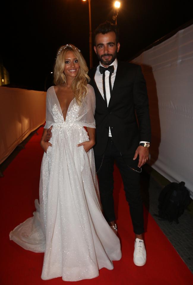 אחת החתונות אם לא ה! דנית גרינברג ואליאב אוזן (צילום: ענת מוסברג)
