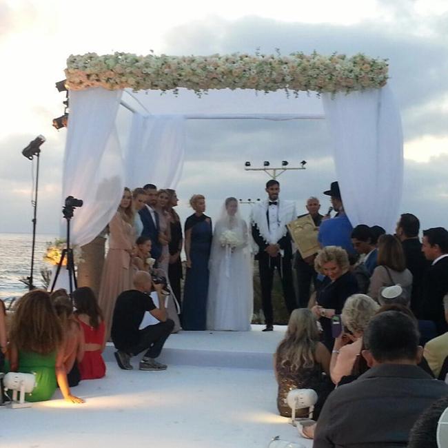 עומרי כספי: מברוק: עומרי כספי התחתן עם שני רודרמן