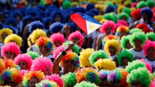 יום העצמאות במנילה, הפיליפינים (צילום: EPA)
