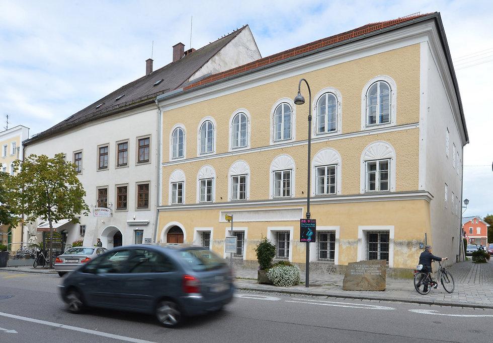 בית הולדתו של אדולף היטלר (צילום: AP) (צילום: AP)