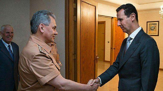 מי כאן הבוס האמיתי? אסד ושר ההגנה הרוסי שויגו