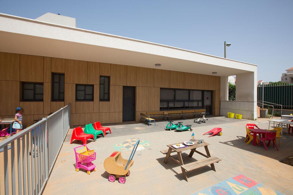 הגן הזוכה בפרס רזניק לאדריכלות הוא ''גן ארובות'' בכפר סבא, בתכנונו של אדריכל ערן זילברמן (צילום: דור נבו)