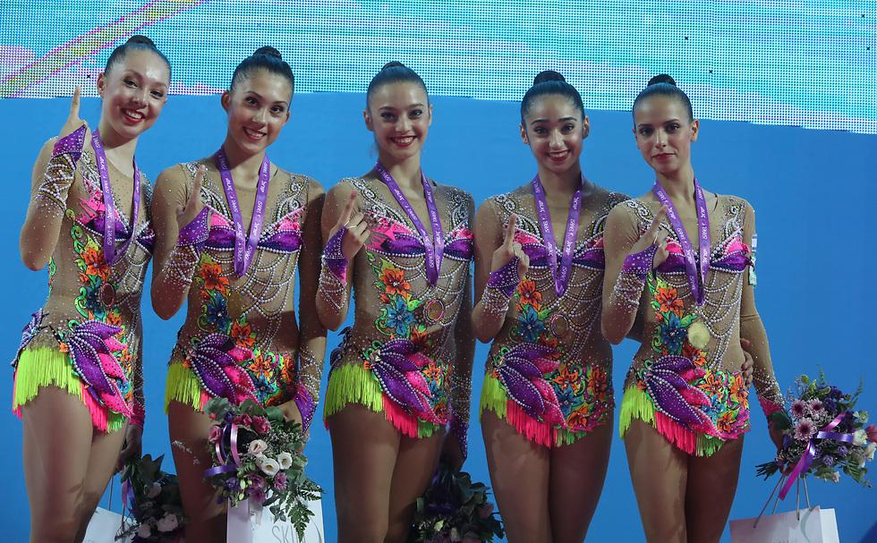 הישגים חסרי תקדים. נבחרת ישראל באליפות אירופה בחולון (צילום: אורן אהרוני) (צילום: אורן אהרוני)