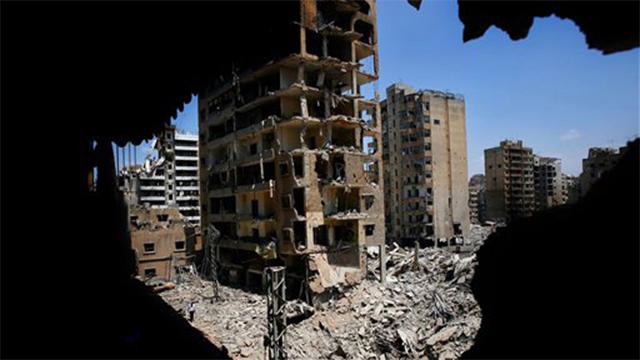 ביירות אחרי מלחמת לבנון השנייה (צילום: AP) (צילום: AP)