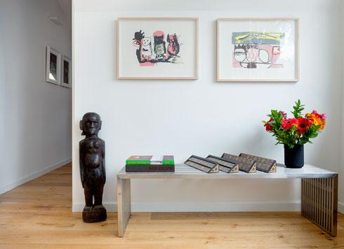 הקפדה על סטיילינג ופריטי אמנות למכירה (צילום: אייל תגר)