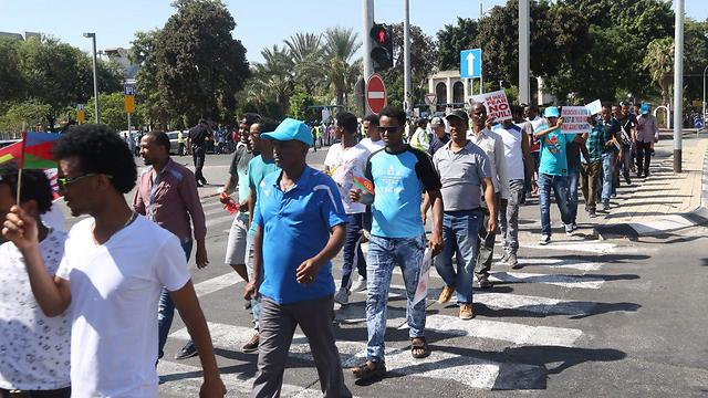 The Eritreans living in Israel deserve to be treated humanely, but that doesn't mean every claim they make is true  (Photo: Motti Kimchi)