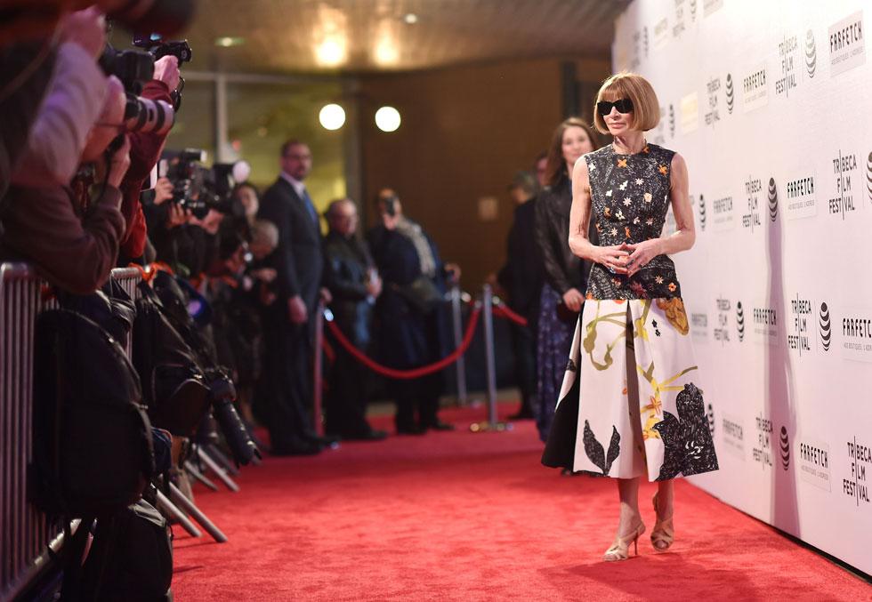האישה החזקה של עולם האופנה מספקת הצצה נוספת למתרחש מאחורי הקלעים של המגזין בניהולה. אנה ווינטור (צילום: Gettyimages)