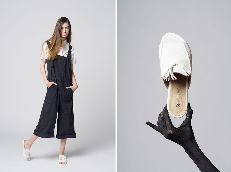 שני בר. קרוב ל-40 דגמים שונים של נעליים, ובהם גם גרסאות טבעוניות (צילום: גיא נחום לוי)